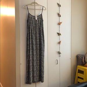 New. LOFT. Maxi Dress. Size L. High waist band.